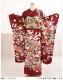 成人式 振袖レンタル fb1309s 振り袖レンタル  20歳 1月 お正月 高級振袖 レトロ モダン かわいい フルセット 貸衣装 着物レンタル 2022 「赤地に慶びの縁起絢爛花貝桶」