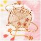3歳 女の子 正絹 七五三レンタル 高級着物 f1417 被布セット 絹のお着物 着物レンタル 753 貸衣装 2020 3才 結婚式 和服 子供着物 人気 モダン かわいい 高級生地 誕生日 hifu 往復送料無料「しゃれっこ」ブランド 上質なピンク地に金刺繍