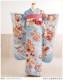 振袖 レンタル 成人式 結婚式 fb1226 結納 食事会 フルセット 卒業式 着物レンタル 古典 レトロ 春の成人式 前撮り かわいい 正絹 人気  「水色に古典慶祝吉祥花」