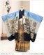 七五三 5歳 男の子 着物レンタル d5300 袴レンタル 753フルセット 貸衣装 卒園式 子供着物 2020 七草祝い 人気 「光」ブランド 水色に縁起華紋と飛翔鷹