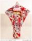 ジュニア着物レンタル 赤地に古典慶花の装い jk038【女の子フルセットレンタル】/13まいり/結婚式/十三参りレンタル/10歳〜13歳/卒業式/女の子/イベント/発表会/貸衣装/二分の一成人式/ジュニア振袖/ハーフ/和装/