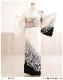 訪問着レンタル 卒業式 hw1474 着物レンタル 母 入学式 結婚式 七五三 ママ フルセット お宮参り 753  卒園式 正絹 母親 kimono 人気 粋 お茶会 houmongi 「白地に麗繚彩りの辻が花」