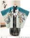 七五三 5歳 男の子 着物レンタル d5391 袴レンタル 753フルセット 貸衣装 卒園式 子供着物 2020 七草祝い 「光」ブランド 緑地市松に武勇の龍兜