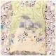 七五三 3歳 男の子 着物レンタル df051 被布セット 子供着物 753 貸衣装 2021 イベント 結婚式 三歳 人気 男 初詣 誕生日 かわいい 「花うさぎ」 白紫市松に慶び飛翔鷹