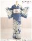訪問着レンタル 小さいサイズ 小さめSサイズ hw1480s 卒業式 着物レンタル 母 入学式 結婚式 七五三 ママ【Sサイズ フルセット お宮参り 753 卒園式 母親 kimono 人気 houmongi 往復送料無料 「ジャパンスタイル」ブランド 綺麗な青地に吉祥慶華