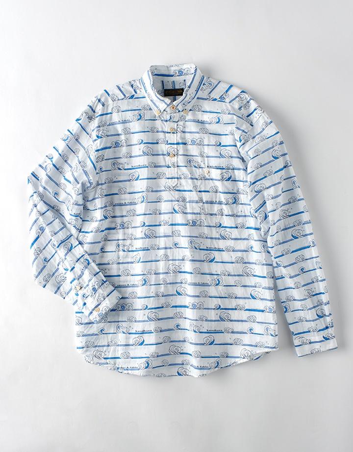 波柄 POシャツ