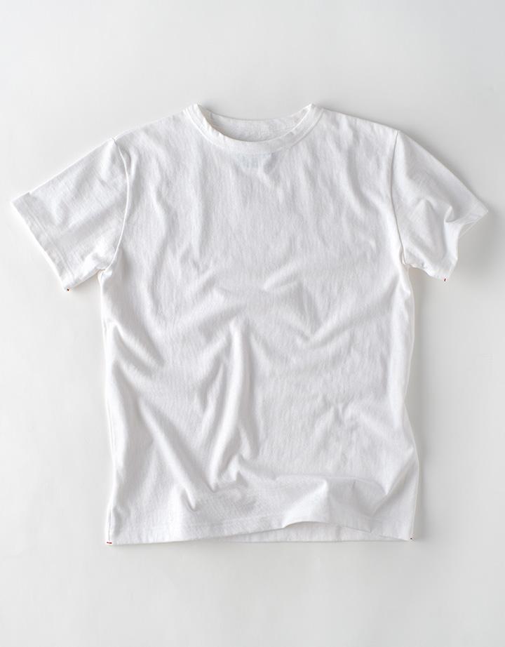 オールドコット カメ刺繍 Tシャツ