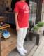 TOP糸 プリントTシャツ