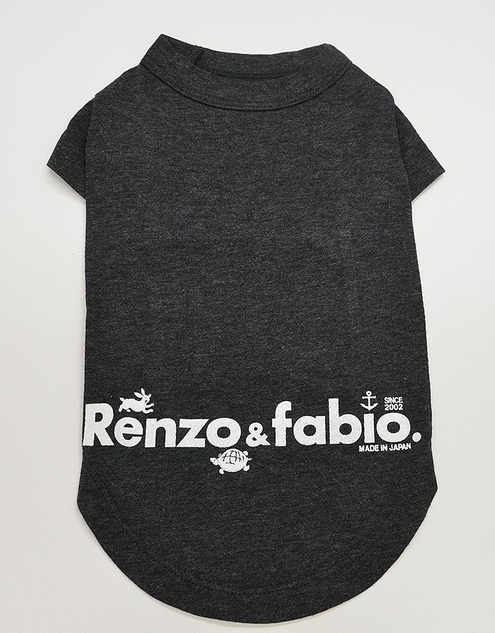 【ドッグウェア】ロゴTシャツ