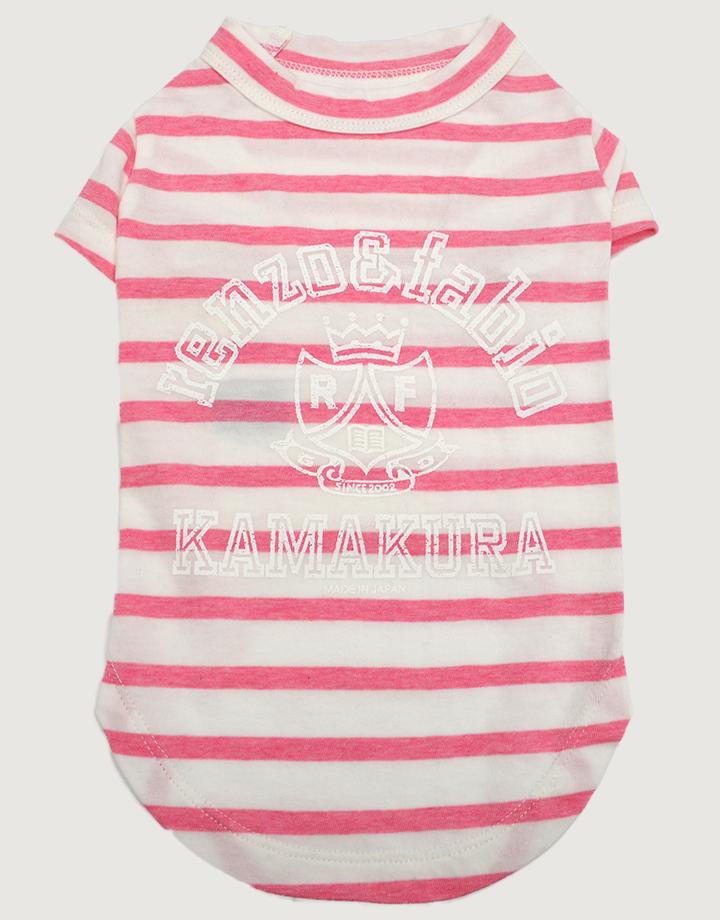【ドッグウェア】ボーダーTシャツ
