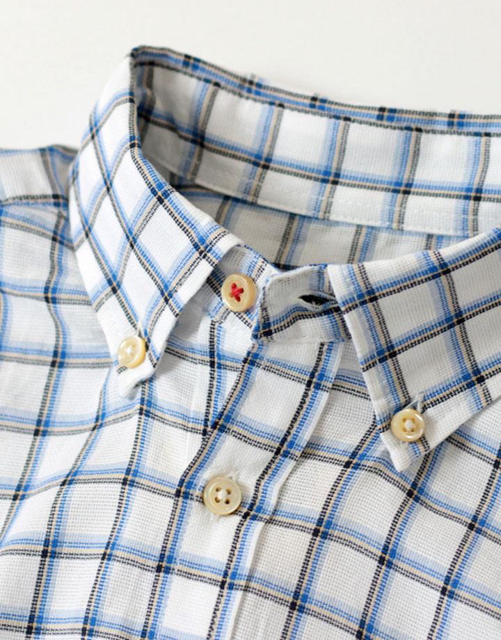 パナマチェック POシャツ
