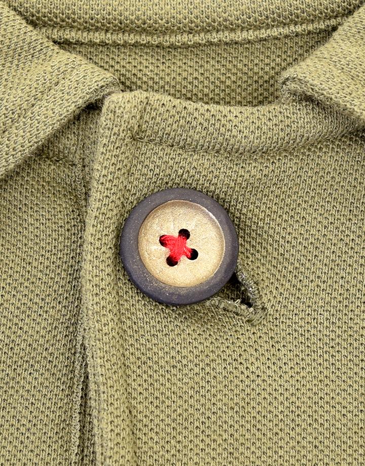 鎌倉ポロシャツ  【鎌倉彫ボタン付】