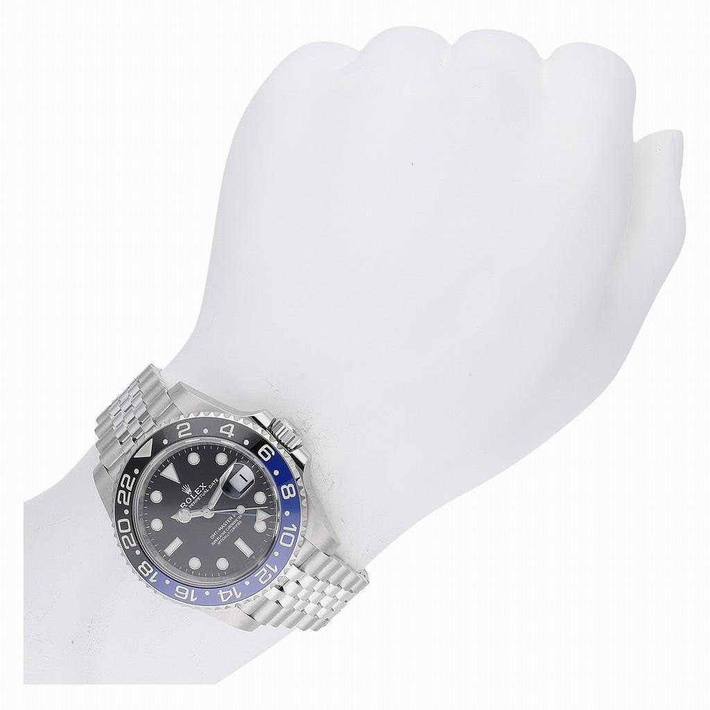 ロレックス GMTマスターII 126710BLNR 新品