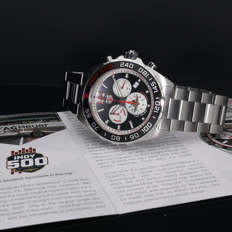 タグホイヤー フォーミュラーワン クォーツ クロノグラフ インディ500 世界限定500本 CAZ101V.BA0842 新品