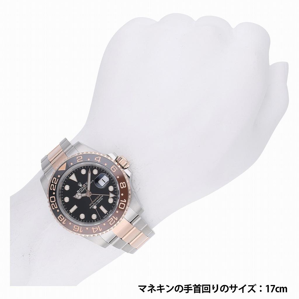 ロレックス GMTマスター II 126711CHNR 新品