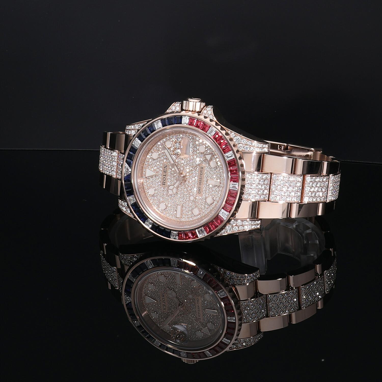 ロレックス GMTマスターII 126755SARU 新品