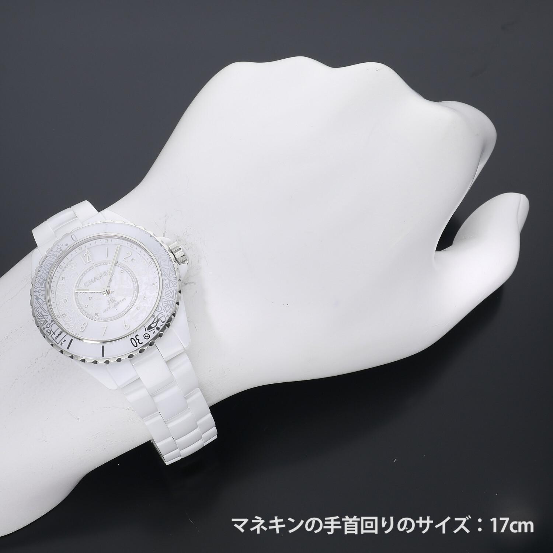 シャネル J12・20 ホワイトセラミック J12 20周年記念2020本限定 H6476 新品