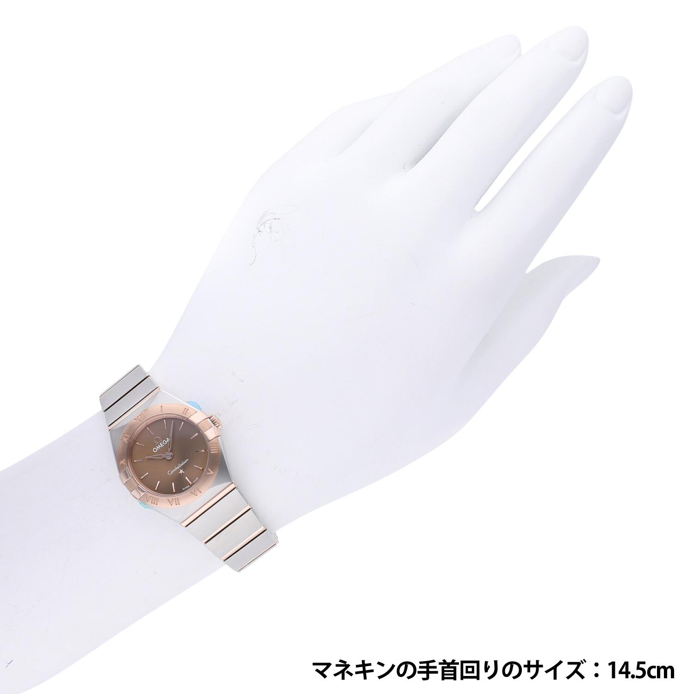 オメガ コンステレーション クォーツ マンハッタン 25mm 131.20.25.60.13.001 新品