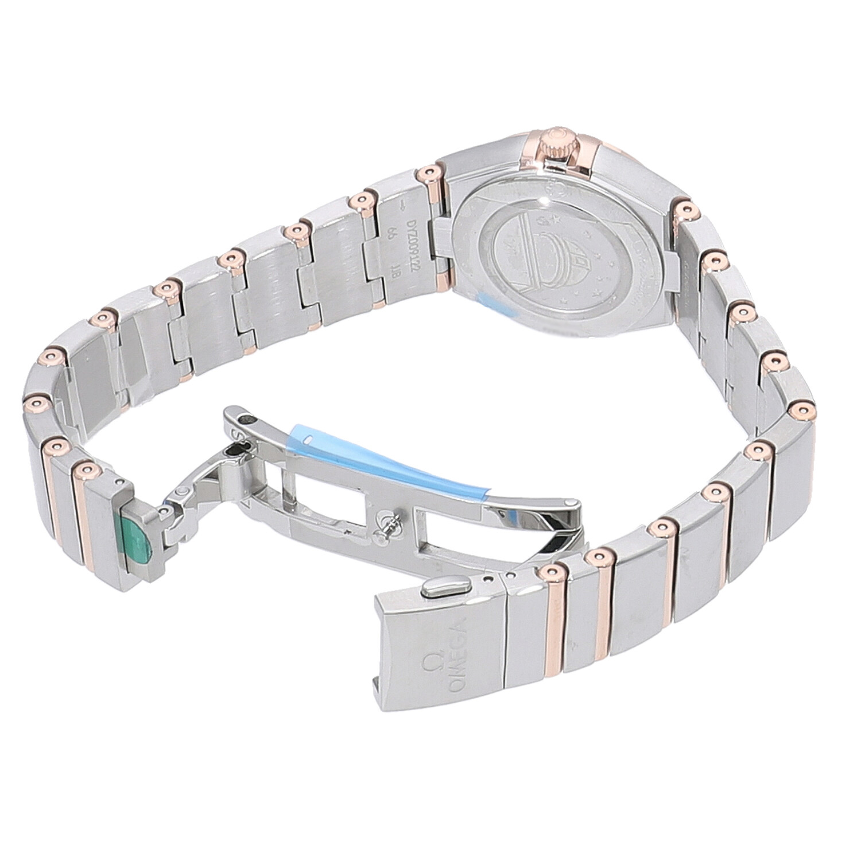 オメガ コンステレーション クォーツ マンハッタン 25mm 131.20.25.60.05.001 新品