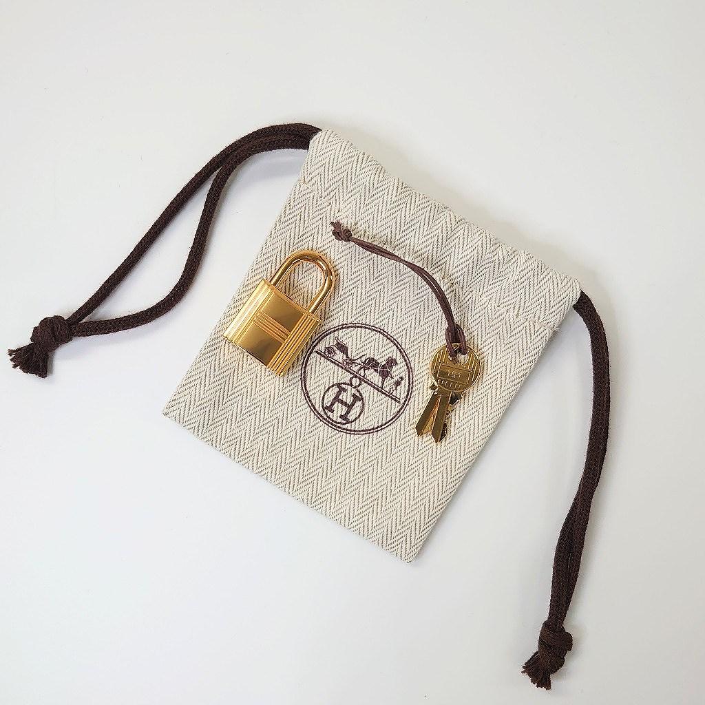 エルメス ピコタン ロックMM トリヨンクレマンス ブルーノール ゴールド金具 新品