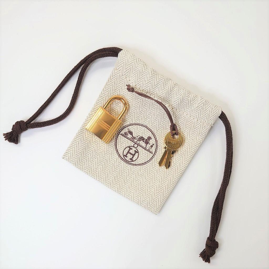 エルメス ピコタン ロック PM トリヨンクレマンス フー オレンジ ゴールド金具 新品