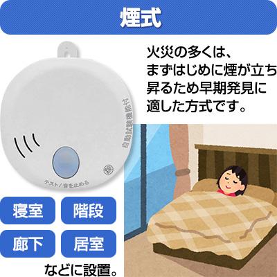 ホーチキ 住宅用火災警報器 SS-2LT-10HCC 煙式 2台 けむり 光電式 自動試験機能付 電池式 音声式 報知器 国家検定合格品 送料込
