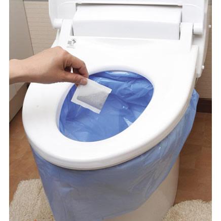 非常用トイレのセルレット108回分(袋付き)