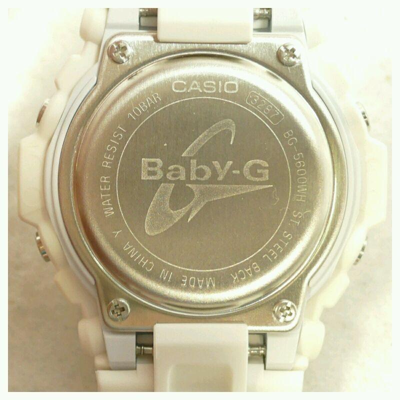 【中古】CASIO Baby-G EXILE TRIBE PERFEGT YEAR 2014 カシオ ベビーG BG-5600WH-EXILE デジタル クォーツ 腕時計【送料無料】