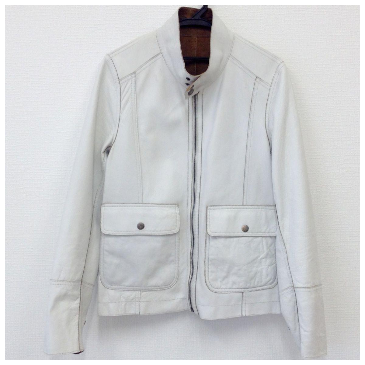 【中古】ドルチェ&ガッバーナ メンズ羊革ジャケット リバーシブル 46