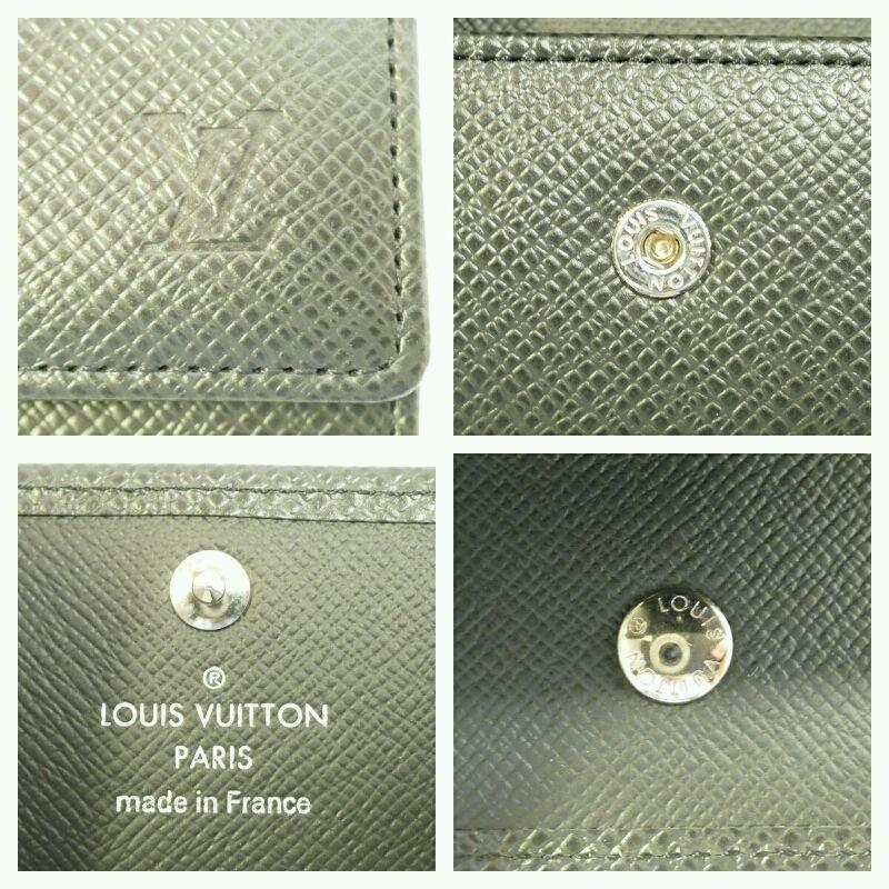 【中古】【送料無料】LOUIS VUITTON タイガ M30500 ミュルティクレ6 イニシャル「N.U」有り