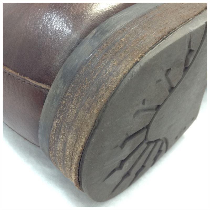 【中古】ディーゼル メンズ ブーツ レザー ブラウン サイズ43(約27.5cm)