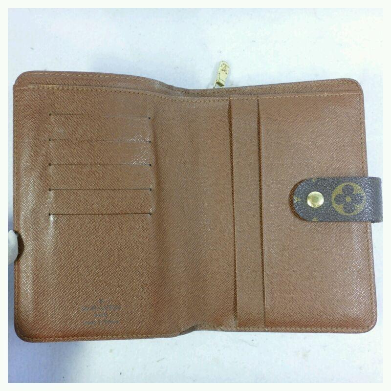 【中古】LOUIS VUITTON モノグラム ポルトパピエ・ジップ M61207 財布 証明書ケース付き【送料無料】