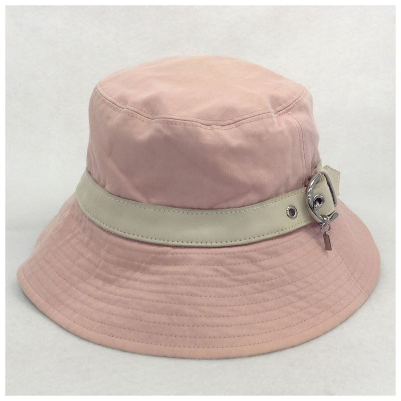 【中古】コーチ ハット 帽子 ピンク サイズP/S