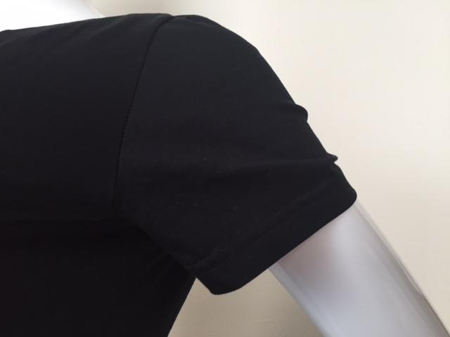 【Retour バックリボン】(40%OFF) <br>半袖 Tシャツ リボン 黒 11〜15号 コットン100% 大人 カジュアル レディース トップス 日本製