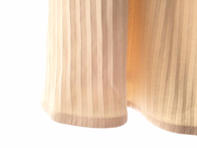 【Retour クランチプリーツスカート】 (50%OFF)<br>フレアー ミディー丈 裏地付き コットン100% ニット素材 ウエストゴム 春・夏 セットアップ レディース ボトムス 日本製 学習発表会 保護者会 歓送迎会などイベントに