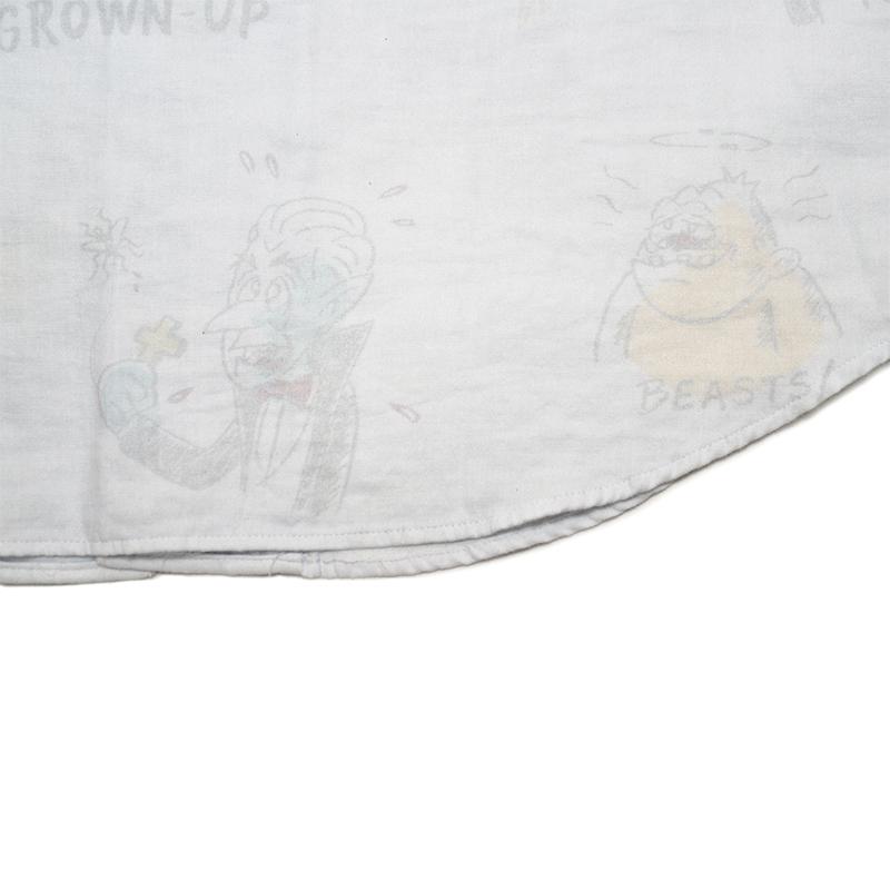 セール 40% OFF SALE WEIRDO GRANDMONSTER - SHORT SLEEVE SHIRTS (BLUE)