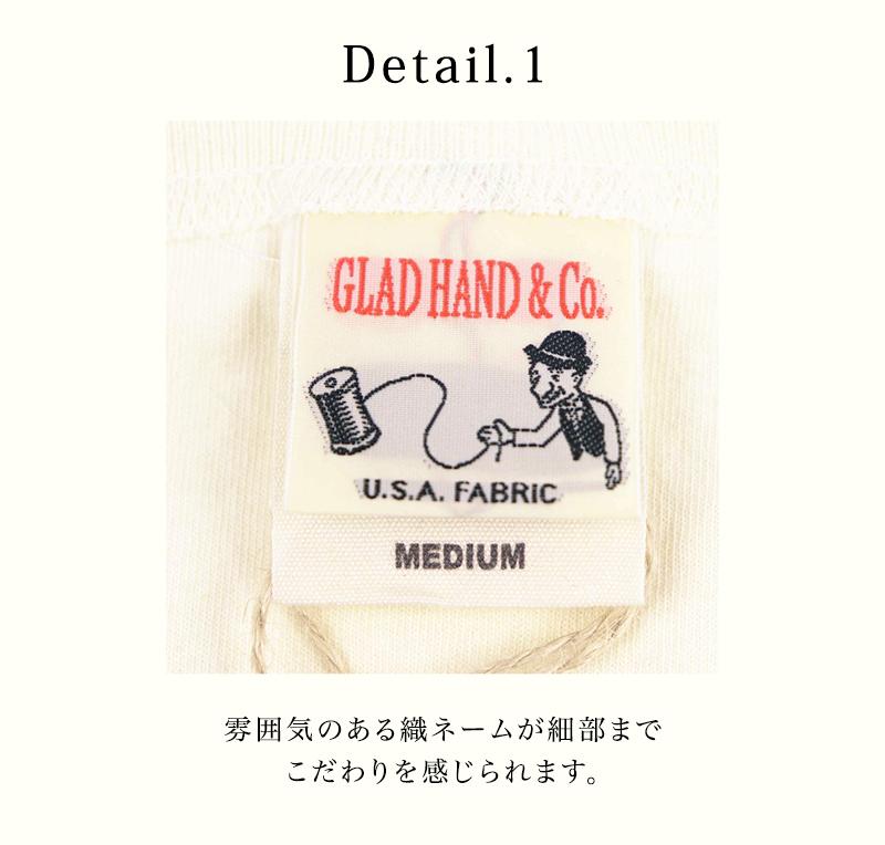GLAD HAND-17,26 STANDARD HENRY POCKET L/S & H/S T-SHIRTS