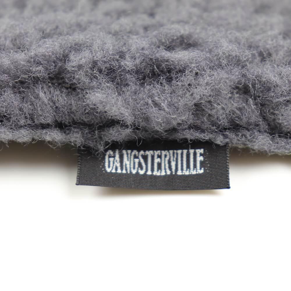 ギャングスタービル マフラー リバーシブル パイルスカーフ メンズ GANGSTERVILLE RISE ABOVE - REVERSIBLE PILE SCARF GLADHAND グラッドハンド WEIRDO ウィアード OLD CROW オールドクロウ