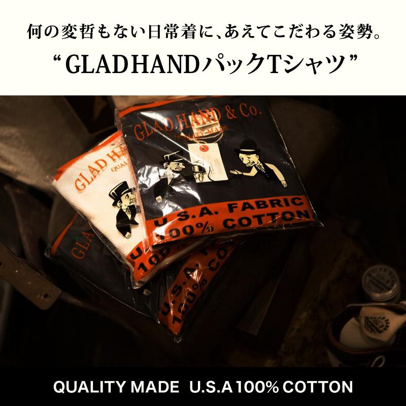 GLAD HAND-16,25 STANDARD CREW NECK POCKET L/S & H/S T-SHIRTS