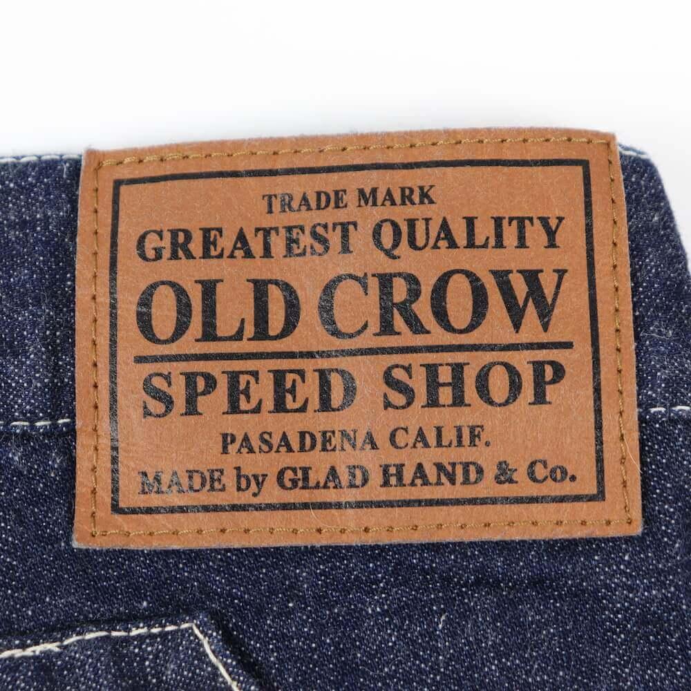 オールドクロウ デニム ベイカーパンツ メンズ OLD CROW GLORY CROW - BAKER PANTS GLADHAND グラッドハンド GANGSTERVILLE ギャングスタービル WEIRDO ウィアード