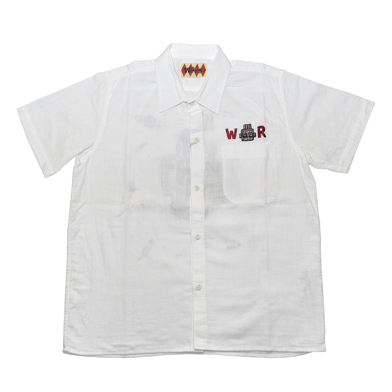 セール 40% OFF SALE WEIRDO S ROBOT - S/S SHIRTS (WHITE)