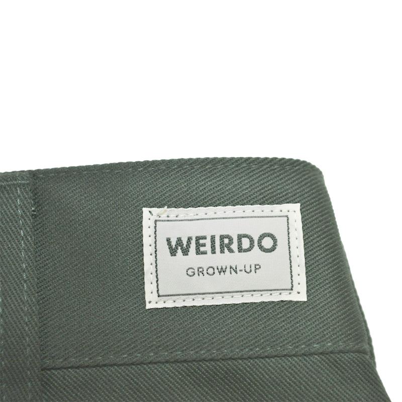 WEIRDO W & L UP - SHORTS (D.GREEN)