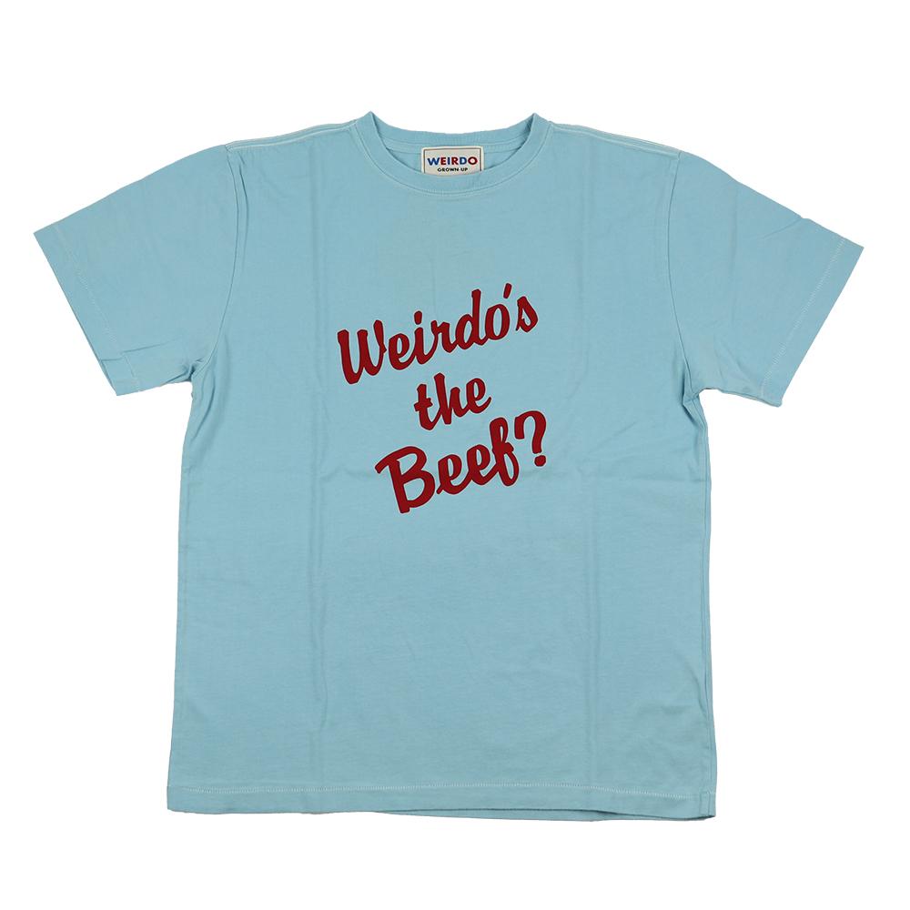 セール 40% OFF SALE WEIRDO Weirdo's the Beef? - S/S  T-SHIRTS