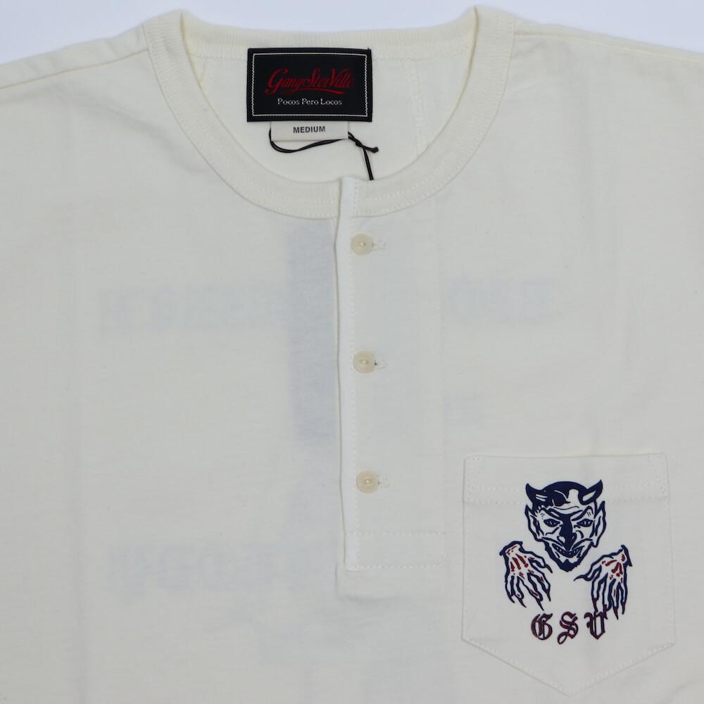 ギャングスタービル ヘンリーネック ポケット 半袖 Tシャツ メンズ GANGSTERVILLE RIOT OF MIRTH - S/S HENRY T-SHIRTS GLADHAND グラッドハンド WEIRDO ウィアード OLD CROW オールドクロウ