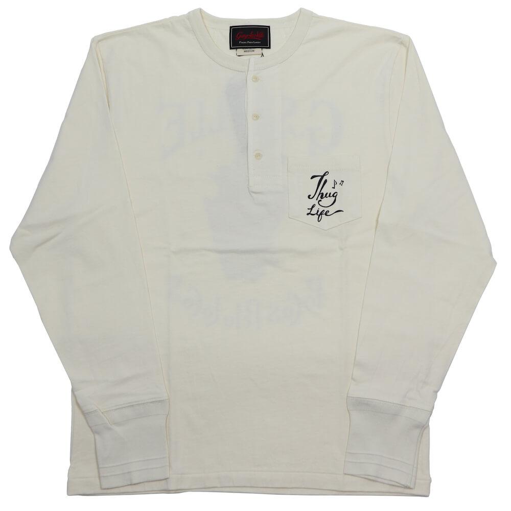ギャングスタービル ヘンリーネック ポケット 長袖 Tシャツ ロンT メンズ GANGSTERVILLE DEAL WITH THE DEVIL - L/S HENRY T-SHIRTS GLADHAND グラッドハンド WEIRDO ウィアード OLD CROW オールドクロウ