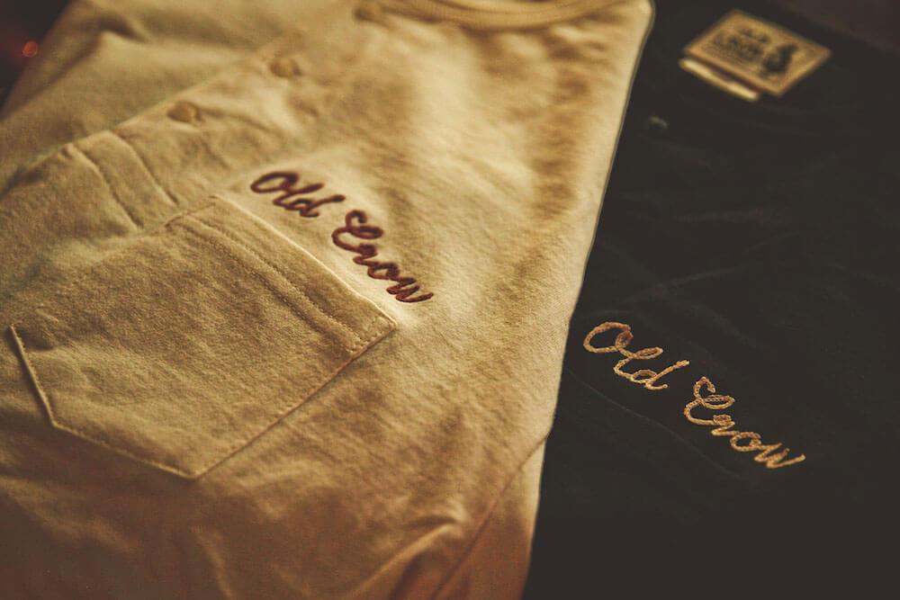 オールドクロウ ヘンリーネック ポケット 長袖 Tシャツ ロンT メンズ OLD CROW CROW BRAND - L/S HENRY T-SHIRTS GLADHAND グラッドハンド GANGSTERVILLE ギャングスタービル WEIRDO ウィアード