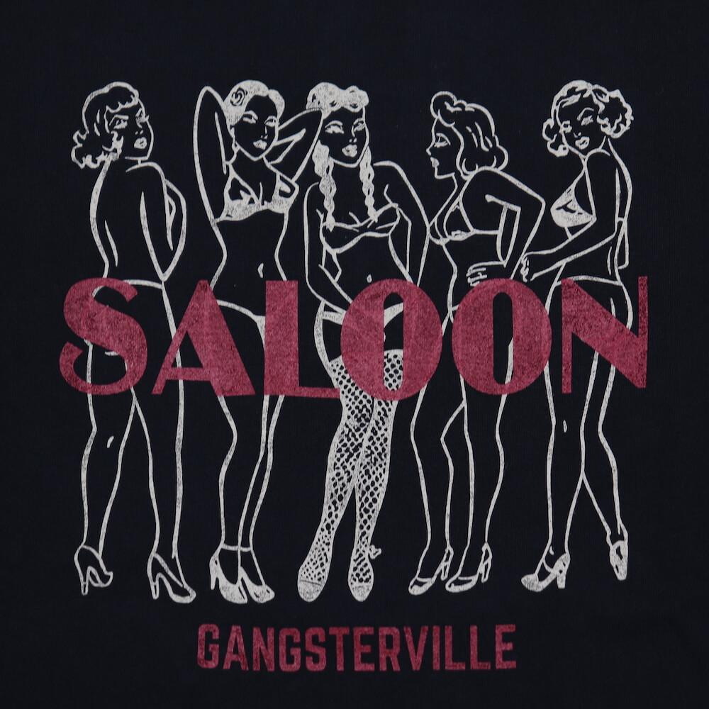 ギャングスタービル クルーネック 長袖 Tシャツ ロンT メンズ GANGSTERVILLE SALOON - L/S T-SHIRTS GLADHAND グラッドハンド WEIRDO ウィアード OLD CROW オールドクロウ