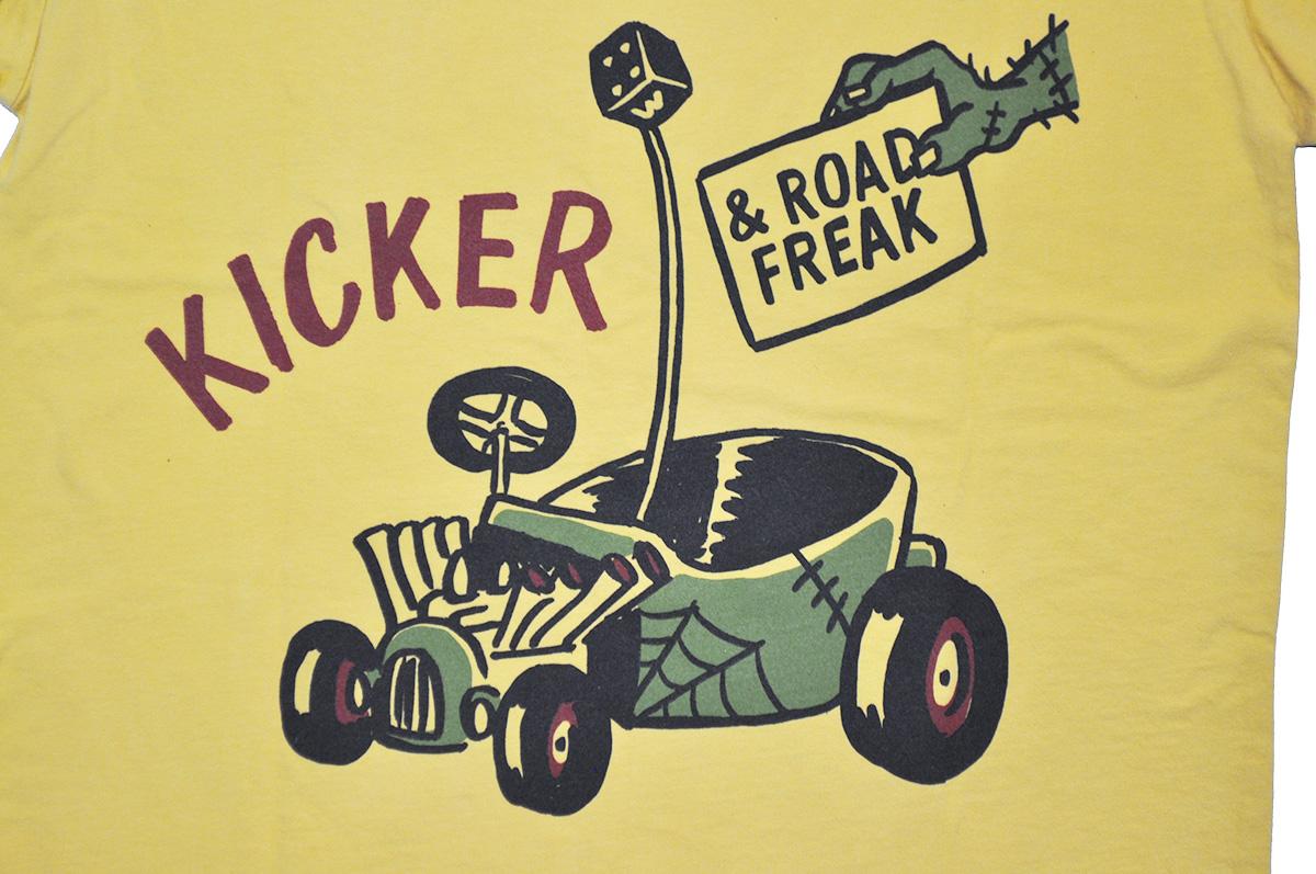 セール 40% OFF SALE WEIRDO ROAD FREAK KICKER - S/S T-SHIRTS (MUSTARD)