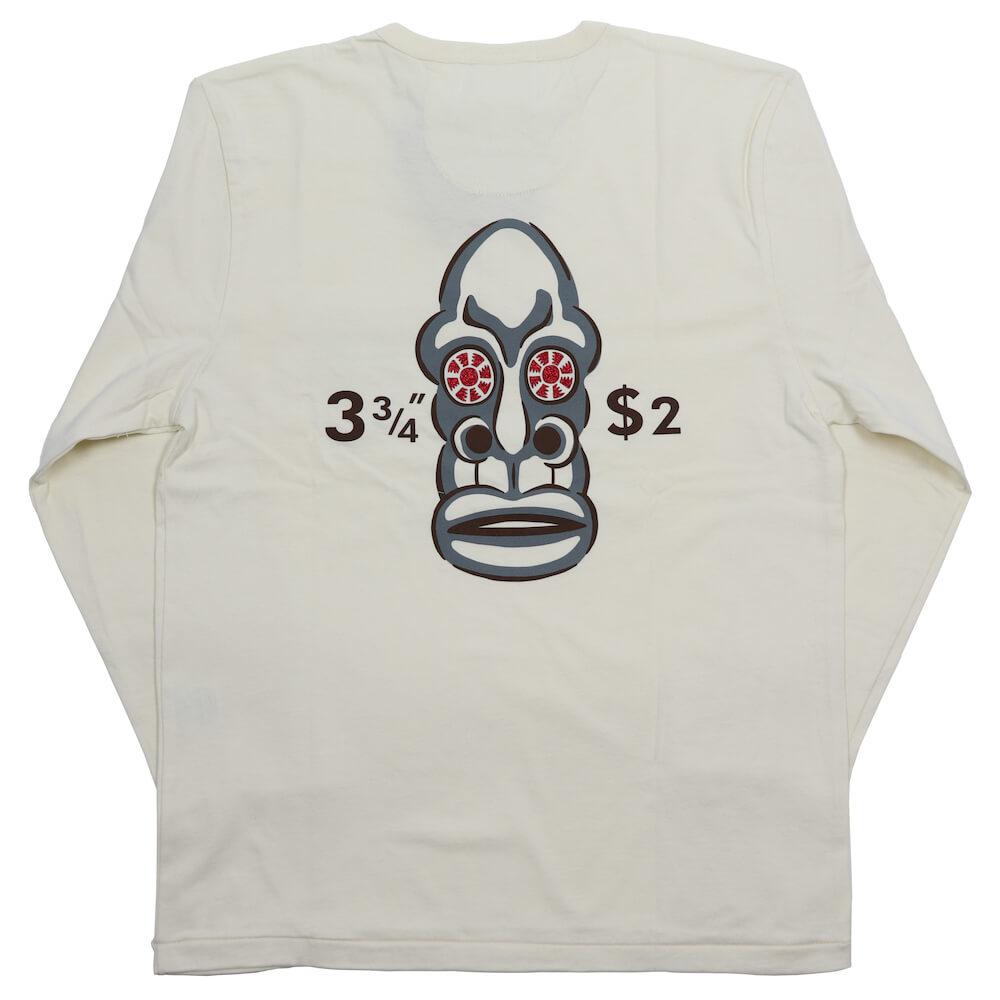 ウィアード ヘンリーネック ポケット 長袖 Tシャツ ロンT メンズ WEIRDO VOODOO NO.208 - L/S HENRY T-SHIRTS GLADHAND グラッドハンド GANGSTERVILLE ギャングスタービル OLD CROW オールドクロウ