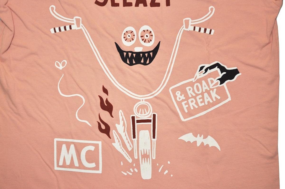 セール 40% OFF SALE WEIRDO ROAD FREAK SLEAZY - S/S T-SHIRTS (PINK)